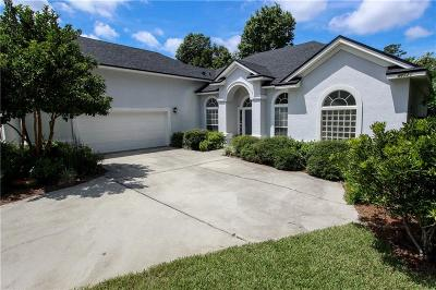 Yulee Single Family Home For Sale: 86521 Riverwood Drive
