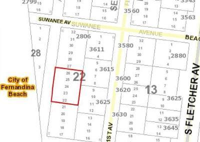 FERNANDINA Residential Lots & Land For Sale: Suwanee Avenue
