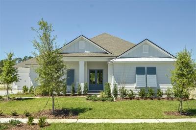 Fernandina Beach Single Family Home For Sale: 96109 E Soap Creek Drive