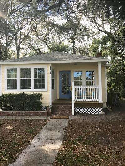 Fernandina Beach Single Family Home For Sale: 531 S 10th Street