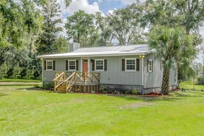 Yulee Single Family Home For Sale: 96730 Blackrock Road