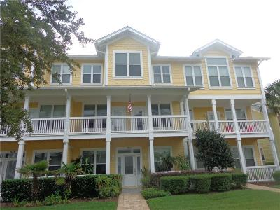 Fernandina Beach Condo/Townhouse For Sale: 2163 Pebble Beach Way