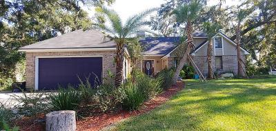 Fernandina Beach FL Single Family Home For Sale: $525,000