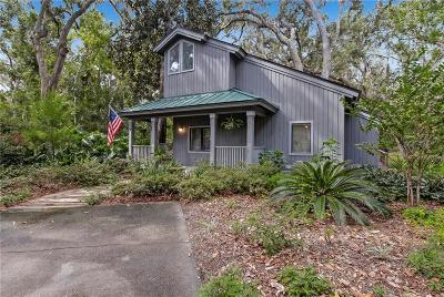 Fernandina Beach Single Family Home For Sale: 22 Beachwood Road
