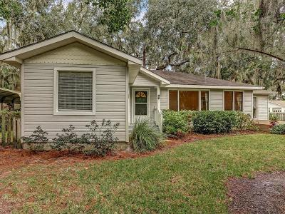 FERNANDINA Single Family Home For Sale: 2121 Clinch Drive