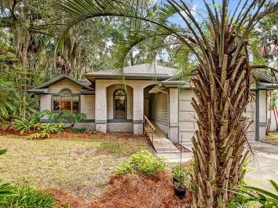 Fernandina Beach Single Family Home For Sale: 96220 Piney Island Drive