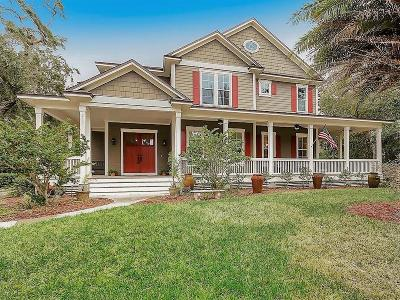 Fernandina Beach Single Family Home For Sale: 212 Jean Lafitte Boulevard