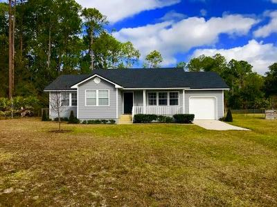 Yulee Single Family Home For Sale: 86221 Spring Meadow Avenue