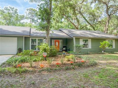 Fernandina Beach Single Family Home For Sale: 5336 Florence Point Drive