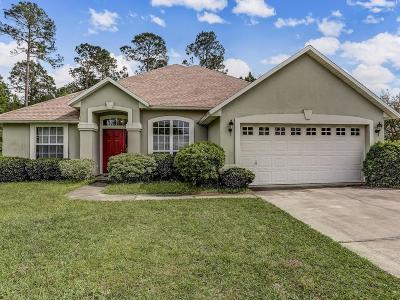 Fernandina Beach Single Family Home For Sale: 96044 Waterway Court