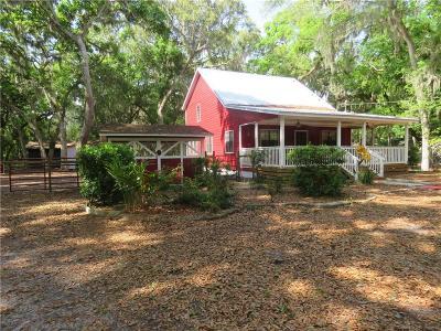 FERNANDINA Single Family Home For Sale: 96061 Marsh Hen Road