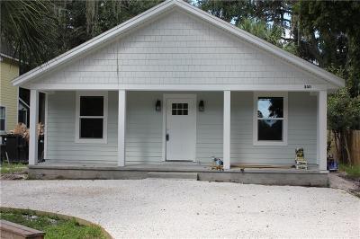 Fernandina Beach Single Family Home For Sale: 2311 Amelia Road