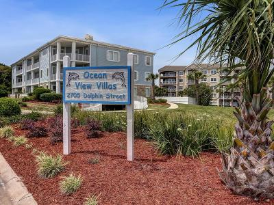 Fernandina Beach, Fernandina Beach/amelia Island, Yulee Condo/Townhouse For Sale: 2705 Dolphin Avenue #3C