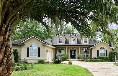 Fernandina Beach Single Family Home For Sale: 95081 Sea Hawk Place