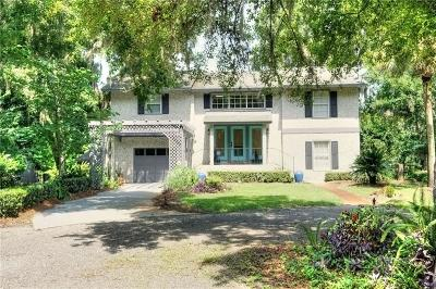 FERNANDINA Single Family Home For Sale: 2945 Amelia Road
