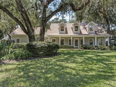 Fernandina Beach Single Family Home For Sale: 96215 Oyster Bay Drive