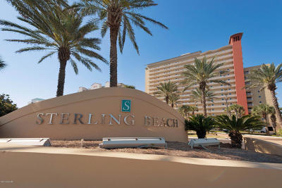 Sterling Beach Condo, Sterling Beach Resort Condo/Townhouse For Sale: 6627 Thomas 1701 Drive #1701