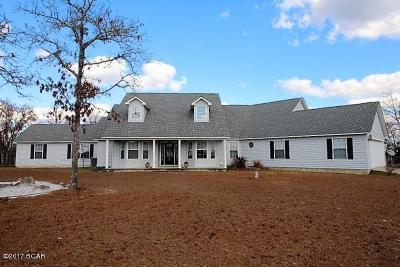 Marianna Single Family Home For Sale: 3346 Quail Road