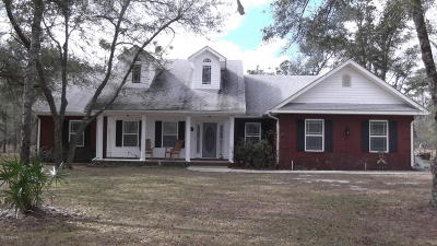 Marianna Single Family Home For Sale: 3529 Nortek Boulevard