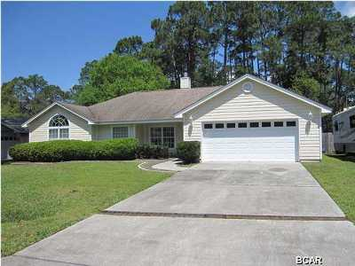 Bay County Single Family Home For Sale: 3412 Pretty Bayou Court
