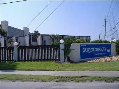 Sugar Beach Condo Condo/Townhouse For Sale: 8727 Thomas Drive #C16