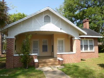 Marianna Single Family Home For Sale: 4432 Davis Street
