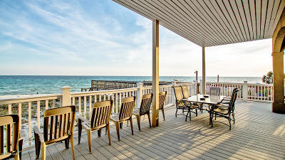 Panama City Beach Single Family Home For Sale: 21625 Front Beach Road #A&B