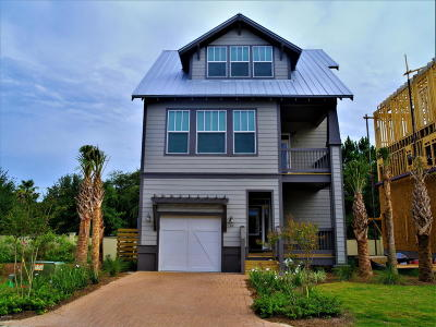 Inlet Beach Single Family Home For Sale: 64 S Grande Pointe Drive