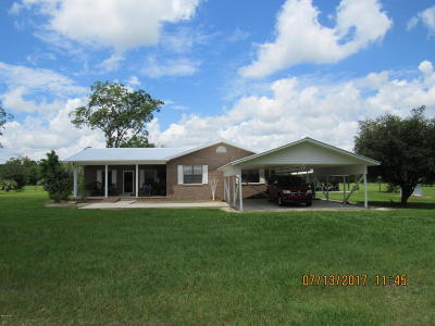Calhoun County Single Family Home For Sale: 10584 W State Road 20