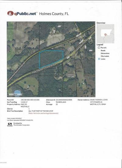Holmes County Residential Lots & Land For Sale: Hwy 90