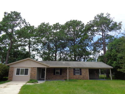 Bay County Single Family Home For Sale: 1222 Babby Lane
