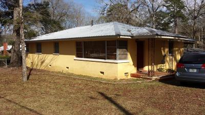 Marianna Single Family Home For Sale: 2984 Park Street