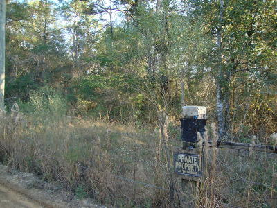Holmes County Residential Lots & Land For Sale: Tup McWaters Road