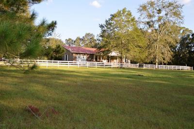 Holmes County Single Family Home For Sale: 1603 Bethlehem Church Road