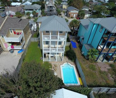 Single Family Home For Sale: 6609 Beach Drive