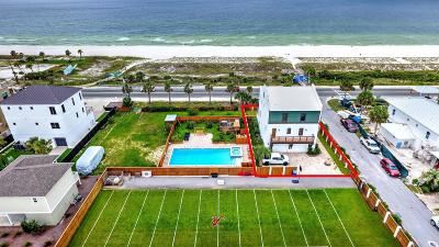 Single Family Home For Sale: 13708 Front Beach
