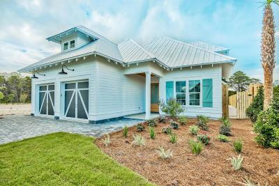 Santa Rosa Beach Single Family Home For Sale: Lot 4 N Deno Drive