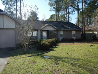 Bay County, Walton County, Washington County Single Family Home For Sale: 6824 Forsythe Drive