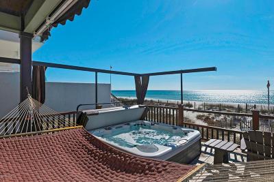 Panama City Beach Single Family Home For Sale: 5615 Gulf Drive