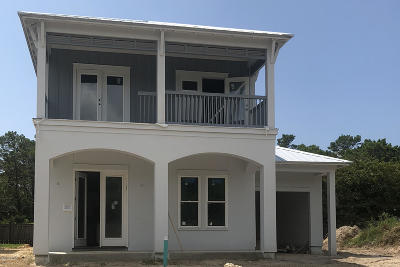 Inlet Beach Single Family Home For Sale: Lot 29 W Willow Mist Road