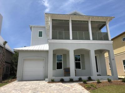 Inlet Beach Single Family Home For Sale: Lot 22 Lake Mist Lane