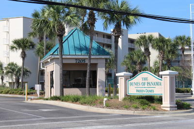 Panama City Beach Condo/Townhouse For Sale: 7205 Thomas #D502