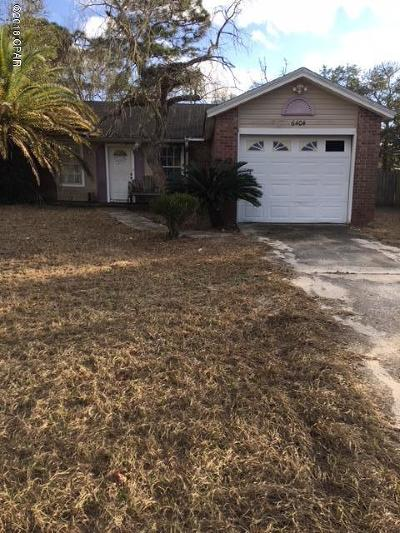 Bay County Single Family Home For Sale: 6404 Lance Street