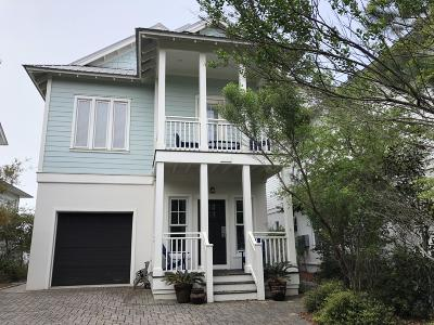 Inlet Beach Single Family Home For Sale: 339 Walton Rose Lane