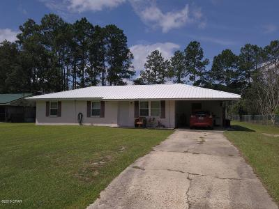 Chipley FL Single Family Home For Sale: $99,000