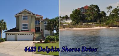 Panama City Beach Single Family Home For Sale: 6423 Dolphin Shores Drive