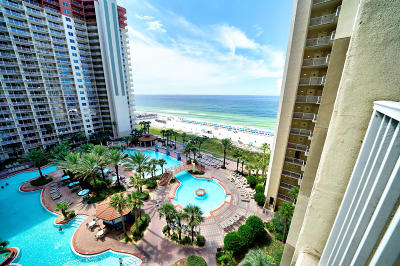 Panama City Beach FL Condo/Townhouse For Sale: $227,500