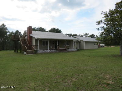 Calhoun County Single Family Home For Sale: 18758 NW T & J Ranch Lane