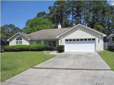 Bay County Single Family Home For Sale: 3412 Pretty Bayou Court