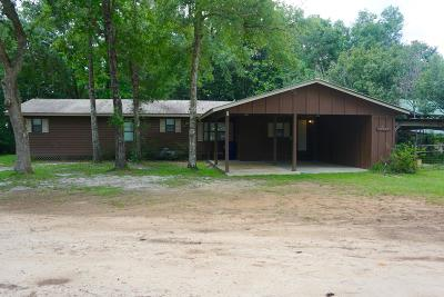 Calhoun County Single Family Home For Sale: 17182 NW Chipola Heights Road